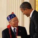 Obama awards Shima the Presidential Citizens Medal 15 Feb 2013 (Japanese American Veterans Association)_rsz