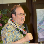 Eric Saul at MIS Veterans Club of Hawaii luncheon.  Photo by Gregg Hirata