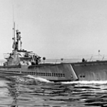 The USS Crevalle.   Copied from Internet.